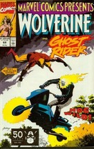Marvel Comics Presents #68 Wolverine and Ghost Rider Hog Wild! [Unknown Binding] - $5.95