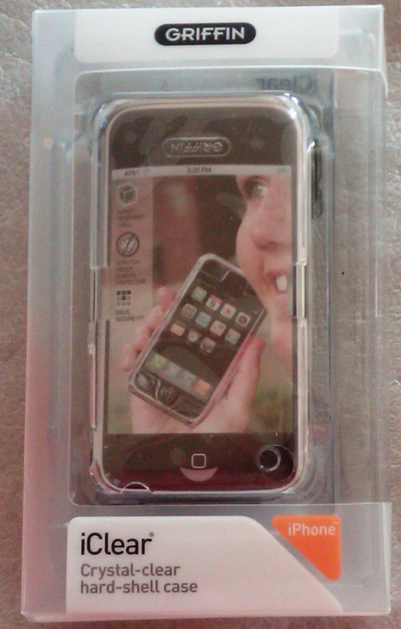 Iphone iclear case griffin