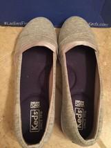 Keds Women's Carmel Jersey Light Grey Shoes WF59966 size 8 medium - £17.61 GBP