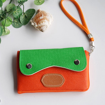 [Light Star] Colorful Leatherette Mobile Phone Pouch - $10.99