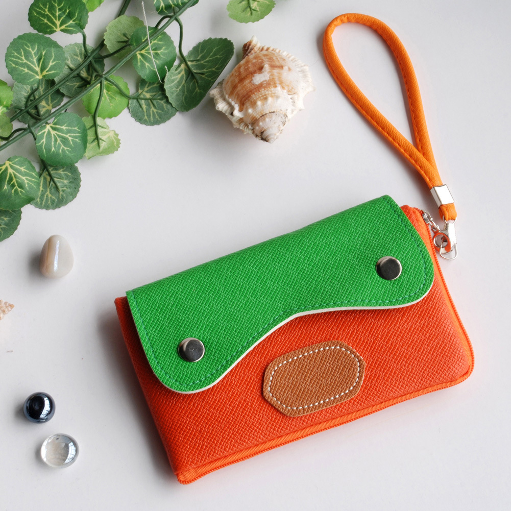 [Light Star] Colorful Leatherette Mobile Phone Pouch