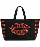 Victoria's Secret Tote Bag Bling Sequin Weekender Tote Hot Lips NWT - $36.93