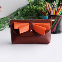 [Elegance Coffee] Colorful Leatherette Clutch Shoulder Bag - $12.99