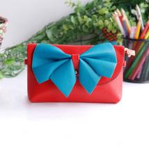 [Fresh Color] Colorful Leatherette Clutch Shoulder Bag - $12.99