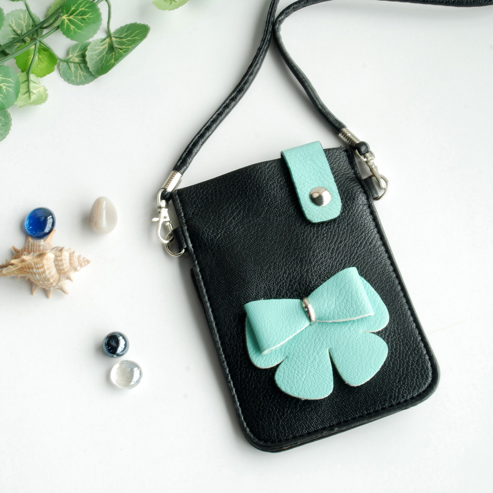 [Freedom Life] Colorful  Leatherette Mobile Phone Pouch