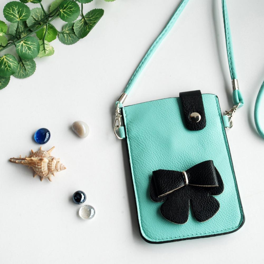 [Praver] Colorful  Leatherette Mobile Phone Pouch