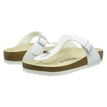 Birkenstock Gizeh White Womens Birko-Flor Thong Sandal Shoe EU 38 Size 7 - $59.39