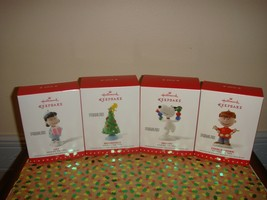 Hallmark 2015 Peanuts Decking The Tree Collection Set Of 4 Ornaments - $51.99