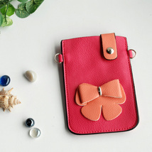 [Love Life] Colorful  Leatherette Mobile Phone Pouch - $8.99