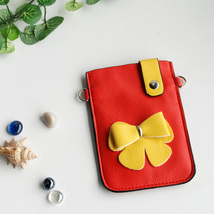 [Exclusive Queen] Colorful  Leatherette Mobile Phone Pouch - $8.99