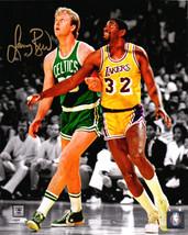 Larry Bird Signed Boston Celtics Action Spotlight w/Magic 8x10 Photo – B... - ₹13,410.36 INR