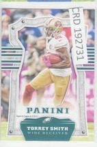 2017 Panini Torrey Smith WR  San Francisco 49ers Eagles #2 192731 - $1.86