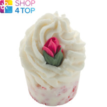 Chic And Cheerful Bath Mallow Bomb Cosmetics Rose Lemon Handmade Natural New - $4.05