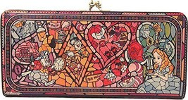 Diversion Stained Glass Long Wallet Alice in Wonderland Disney Limited J... - $280.49