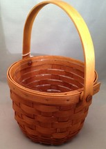 Longaberger Small Fruit Basket w/ Protector - $22.49