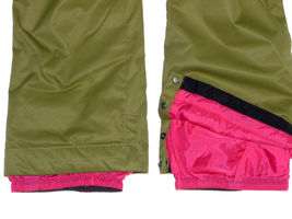 Burton Sweetart Cargo Pants Girls Snowboard Ski Waterproof Insulated Olive XL 18 image 4