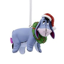 Christmas Ornaments, Disney Winnie the Pooh Eeyore With Wreath Ornament - $20.74