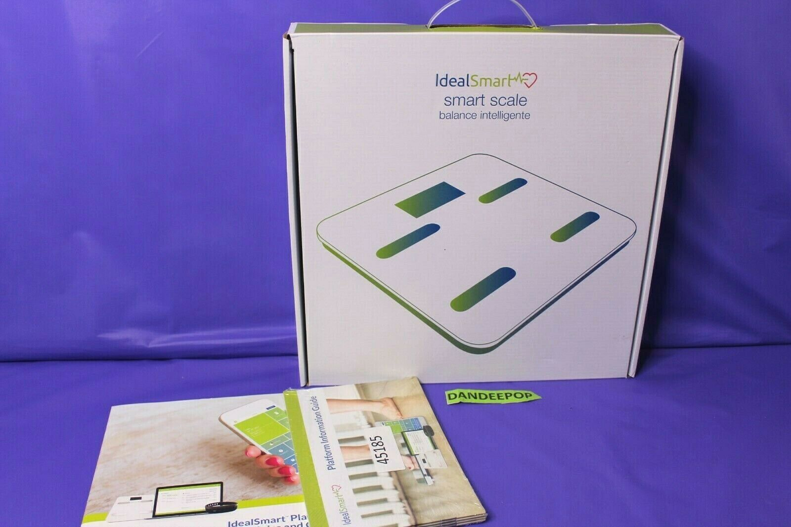 Primary image for Ideal Smart Scale Balance Inteligente Weight Body Mass Percentage Hydration 550