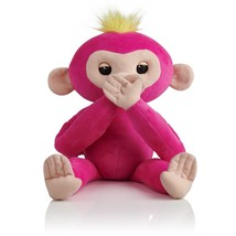 WooWee Fingerlings HUGS - Bella Pink- Friendly Interactive Plush Monkey Toy - $32.99