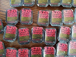 26 McDonald's Szechuan Sauce Packets Unopened 2018 Rick & Morty Ad Campaign - $37.61