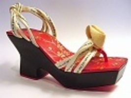 Smart Fortune Cookie Clever Sandal Cherry Blossom ChinatownJust the Righ... - $29.99