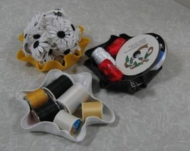 yellow White and Black Bumble Bowl Recycled Vinyl 45 Record Set - $9.99