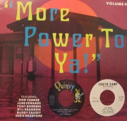 Various Artists More Power To Ya Vinyl Album 1989