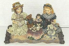 "Yesterdays' Child ""Sarah,Heather,w/ Elliot,Dolly, and Amelia..Tea For Four"" - $13.37"