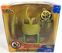 2001 RUMBLE ROBOTS Snap On Armor BITOR MIB Sealed MISB Interactive Toy A... - $12.98