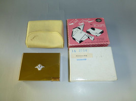 Vintage Reuge Miniature Music Box Powder & Lipstick Compact (WATCH The VIDEO) - $321.75