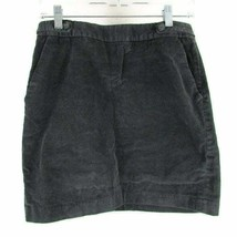 Banana Republic Women's Corduroy Skirt Stretch Pocket Gray Size 4 - $14.50