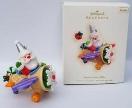 2008 Hallmark Ornament Santa's Sweet Ride #2 in Series QX7151 Tammy Haddix - $17.09