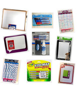 Dry Erase Boards and Marker Sets Home School Office - $6.92+