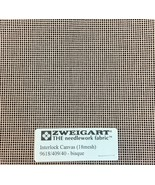 Interlock Needlepoint Canvas 18 Count Bisque Custom Cuts Available Blank... - $7.13+