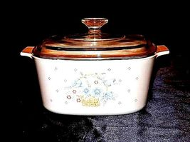 Vintage Corning Ware2 Piece Serving Dish and Lid AB 249-B image 5