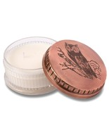 Himalayan Trading Post Powder Pot Ancient Philosophy Owl Candle 8oz - $42.00