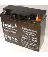 POWERSTAR 12 Volt 18AH Sealed Lead Acid Battery for Modified Power Wheel... - $52.68