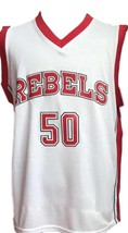 Greg Anthony #50 College Basketball Jersey Sewn White Any Size image 1