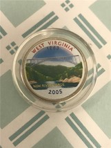 2005 P West Virginia Enameled State Quarter *FREE SHIPPING* - $3.92