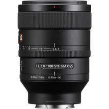 Sony Fe 100mm f/2.8 Stf Gm Oss Lens - $1,467.39
