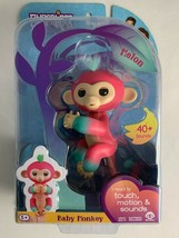 WowWee Fingerlings 2Tone Monkey Melon Dark Pink w/ Turquoise Accents & Hair - $11.87