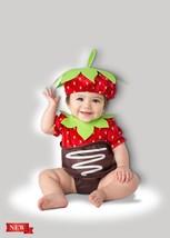 Incharacter Erdbeere Schokolade Süß Frucht Kleinkinder Baby Halloween Ko... - $25.19