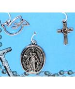 Easter Set 3 Religious Charms Pendant Virgin Mary Dove Cross Faith Expre... - $47,07 MXN