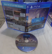 Cities Skylines game disc w/case PS4 playstation 4 - $39.95