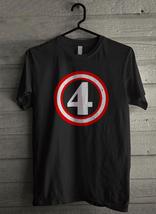 Captain 4th Birthday Gift for Four Years old Toddler Men's T-Shirt - Custom (158 - $19.12+