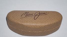 Maui Jim Tan Hard Shell Woven Bamboo Sunglass Case Only - $9.49