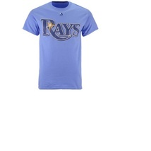 New Mlb Tampa Bay Rays Majestic Men's Official T-Shirt Size M - $5.00