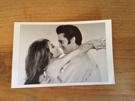 "ELVIS PRESLEY WITH MICHELLE CAREY REPRINT PHOTO WARNER BROS. 4.5"" X 7""  ... - $14.50"