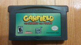 NINTENDO GAMEBOY ADVANCE GAME BOY GAME Garfield The Search For Pooky - $4.09