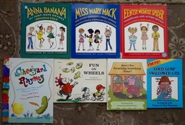 7 books Schoolyard Rhymes, Miss Mary Mack, Anna Banana, Joanna Cole - $12.99
